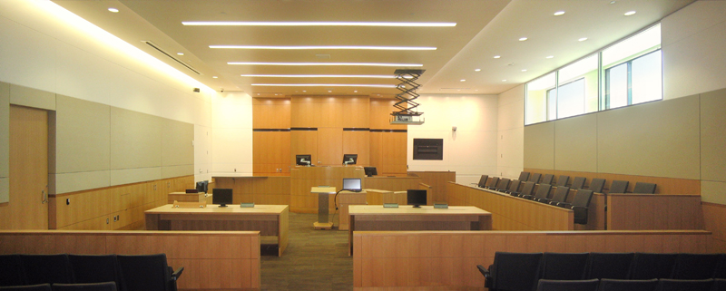 Maricopa L7 courtroom - daylight